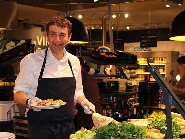 Herr Sailer (Bereichsleiter der Leonhard's Restaurants)