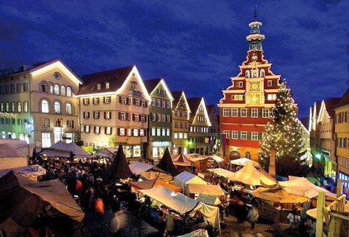 Esslinger Mittelaltermarkt am Rathausplatz