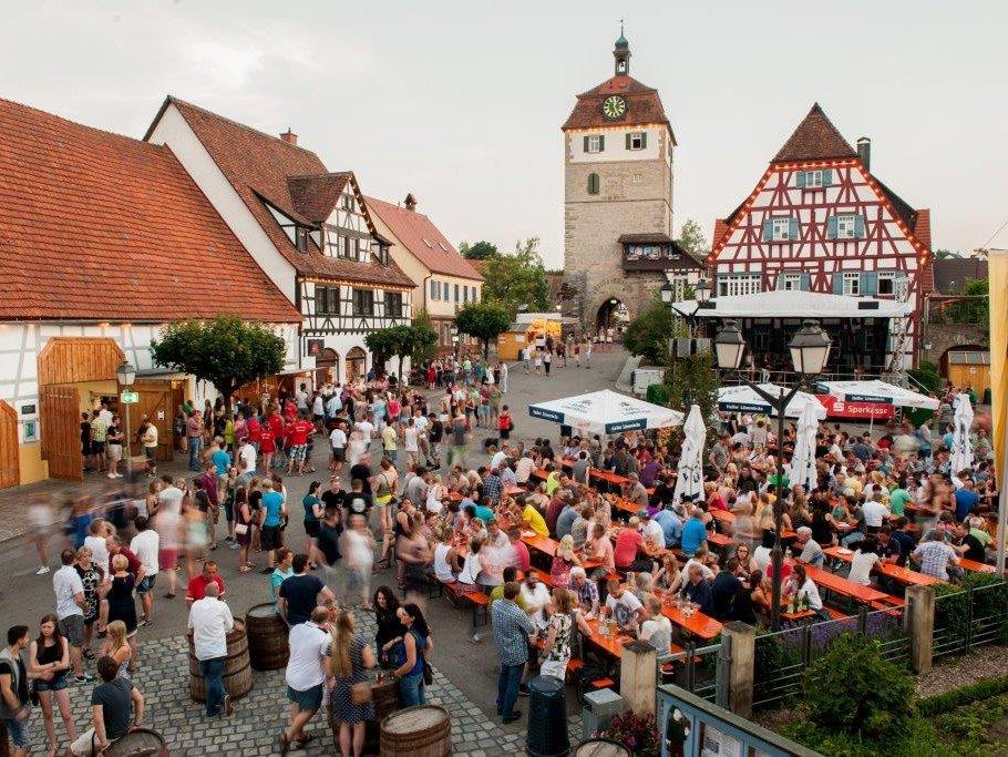Vellberger Weinbrunnenfest