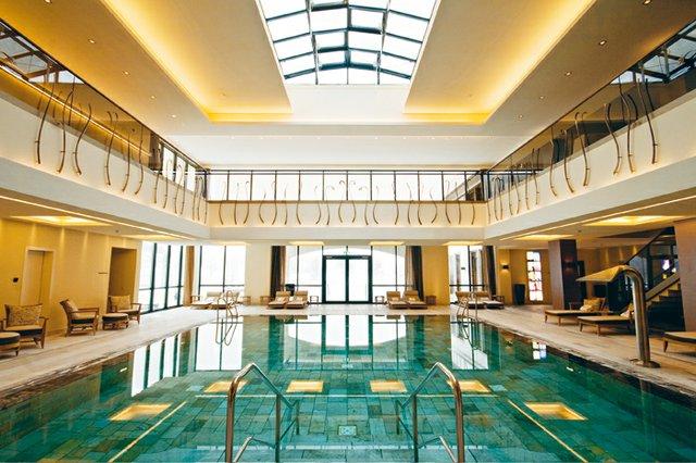 Das Wald Schlosshotel Friedrichsruhe Ist Wellnesshotel 2018 Im
