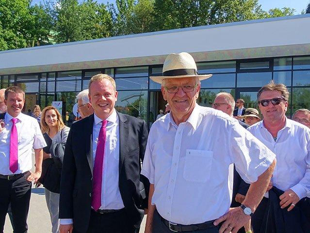 Kretschmann besucht die LaGa2016