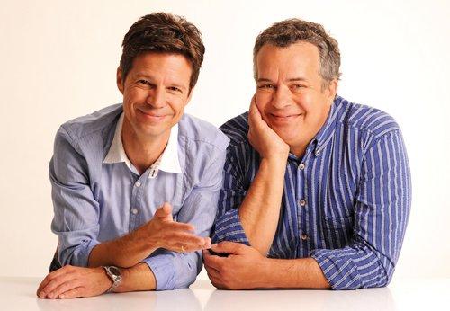 Sascha Zeus und Michael Wirbitzky