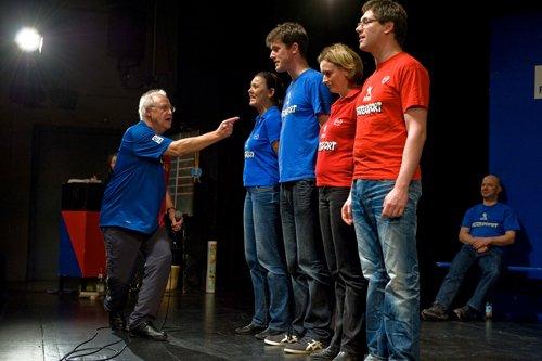 Volker Quant beim Theatersport