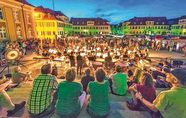 Grüne Nacht Ansbach