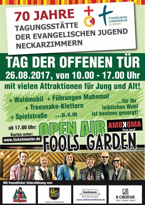 Tag der offenen Tür mit Fools Garden