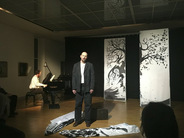Winterreise staged