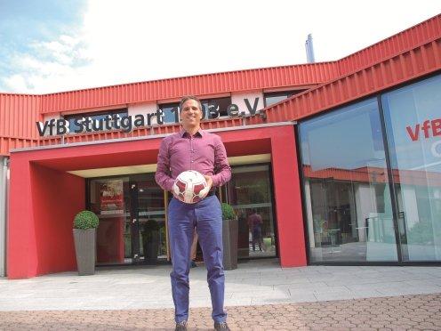 VfB Stuttgart Nachwuchszentrum Stefan Heim