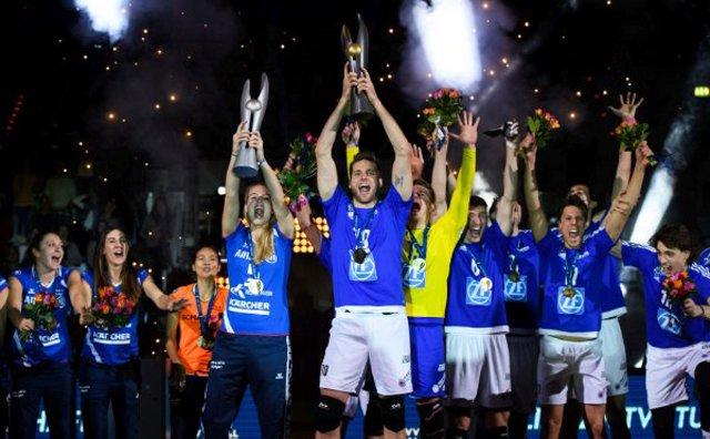 MTV und VfB Jubeln mit dem DVV-Pokal