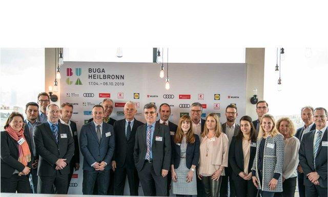 Heilbronner BUGA stellt erste Sponsoren vor