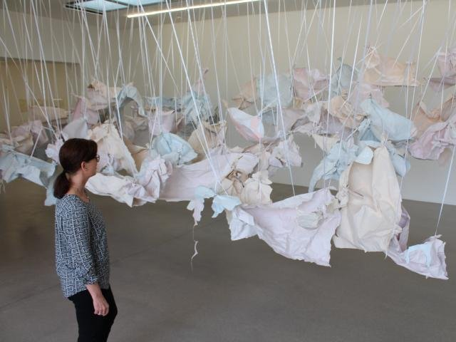 Kunsthalle Vogelmann: Presume Potential von Karla Black