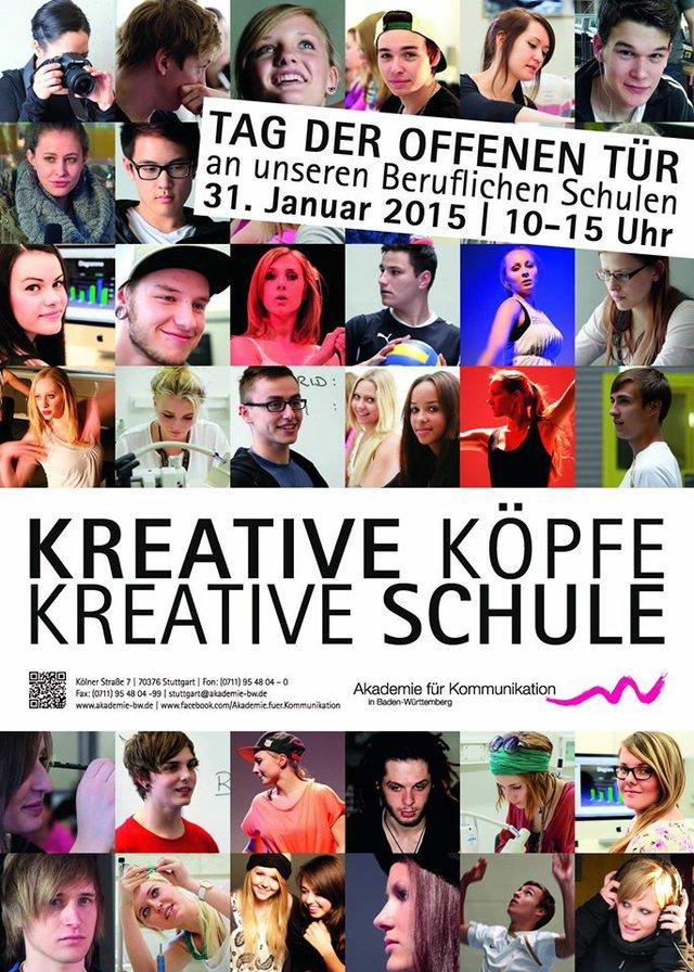 Tag der offenen Tür Akademie für Kommunikation Stuttgart