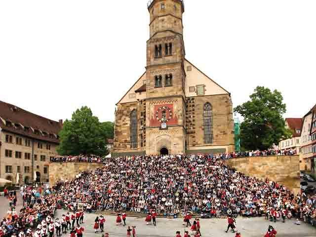 Kuchen- und Brunnenfest Schwäbisch Hall