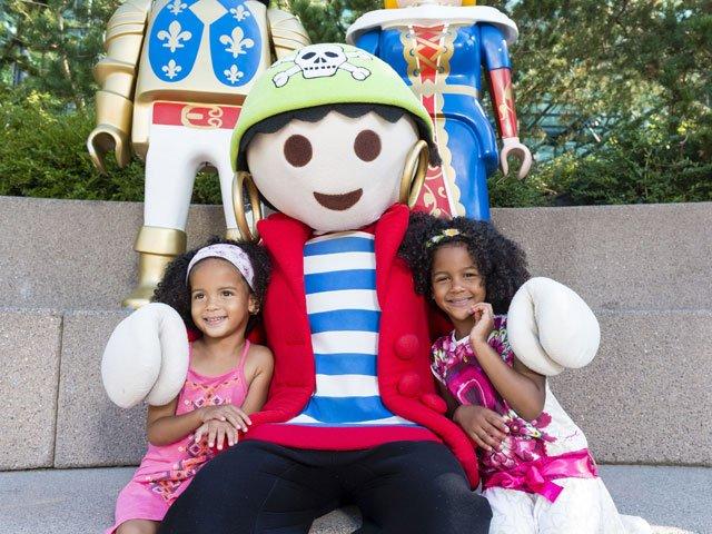 Weltkindertag am 1. Juni - Playmobile-FunPark