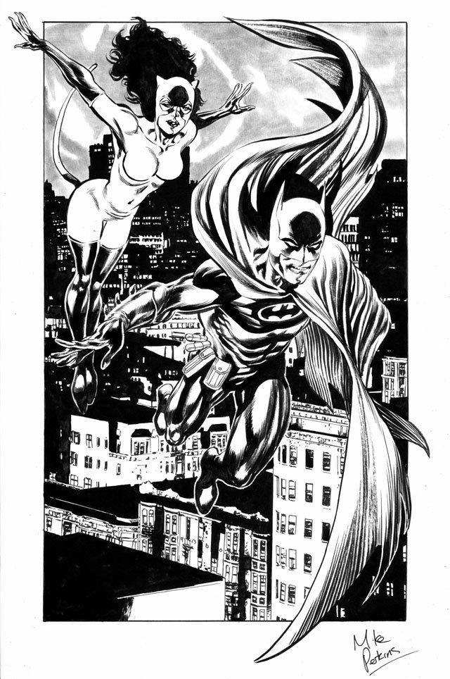 Batman und Catwoman