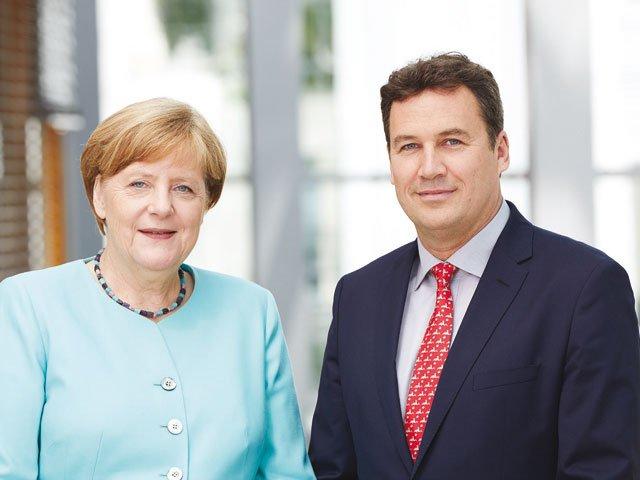 Angela Merkel & Christian von Stetten