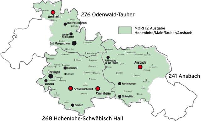 Wahlkreise Hohenlohe