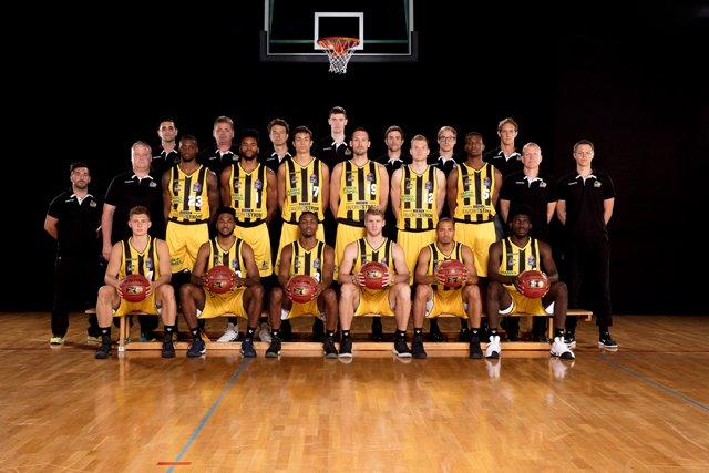Teamfoto MHP RIESEN Ludwigsburg