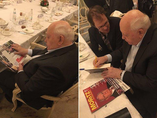 Gorbatschow liest MORITZ