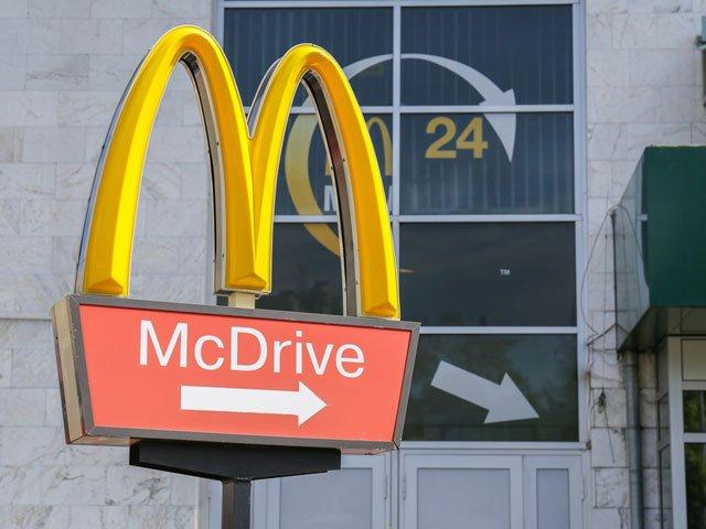 Geschäft von McDonald's