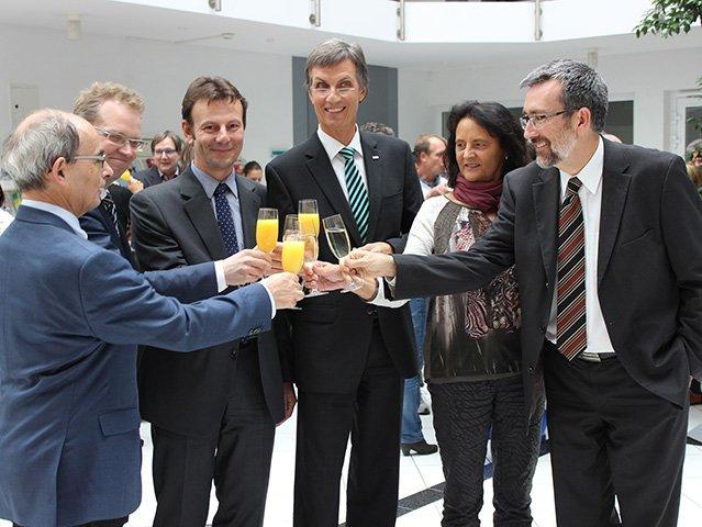 Rektorat der Hochschule Heilbronn ist komplett