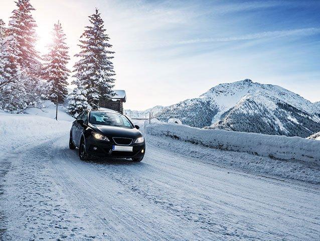 Autofahren im Winter: