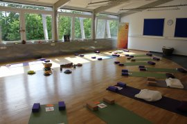 Yoga im Mawell Resort