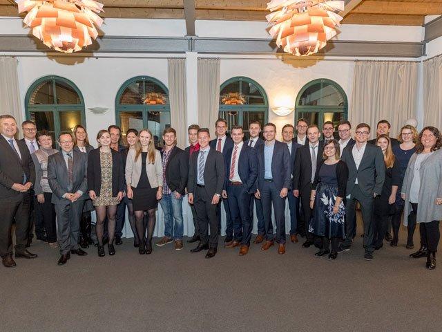 Würth Absolventen der Dualen Hochschule 2017