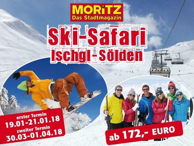 Ski-Wochenende in Ischgl und Sölden mit MORITZ!