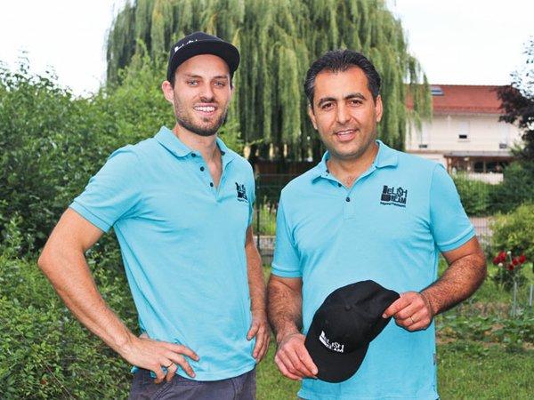 Die Macher Philipp Kälberer (links) und Gründer Alireza Shirvani