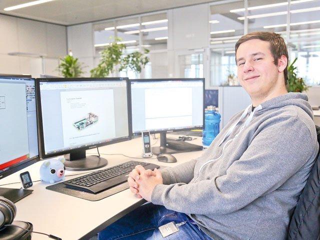 Julian Hannig Auszubildender bei ebm-papst