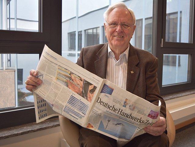 Klaus Hackert feiert runden Geburtstag