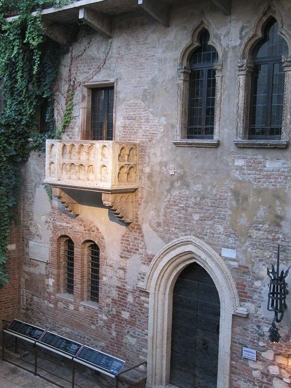 Verona: Julias Balkon