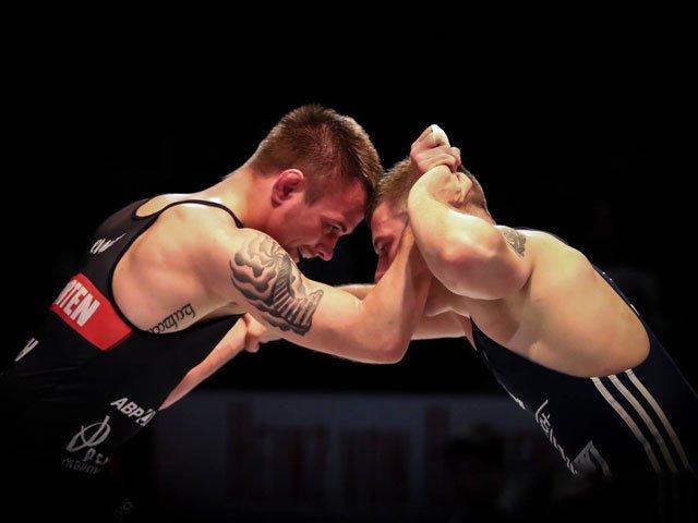 Dustin Scherf (links) gewann zwei Drittel seiner DRL-Kämpfe.
