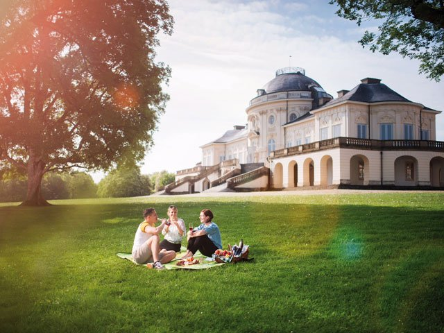 Solitude Schloss Picknick