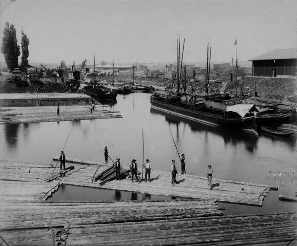 Winterhafen 1890