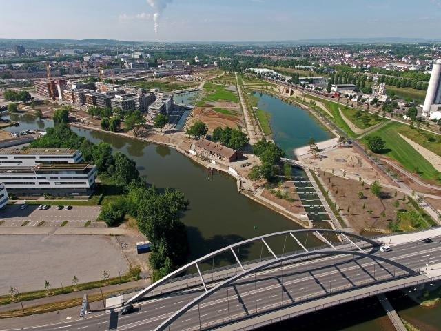 Luftaufnahmen Bundesgartenschaugelände