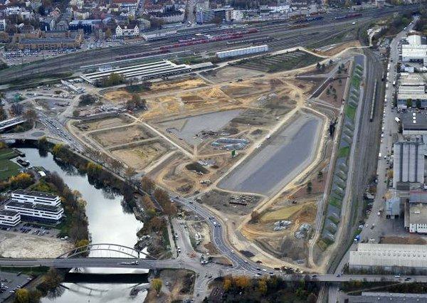 Luftaufnahmen Bundesgartenschaugelände 2015