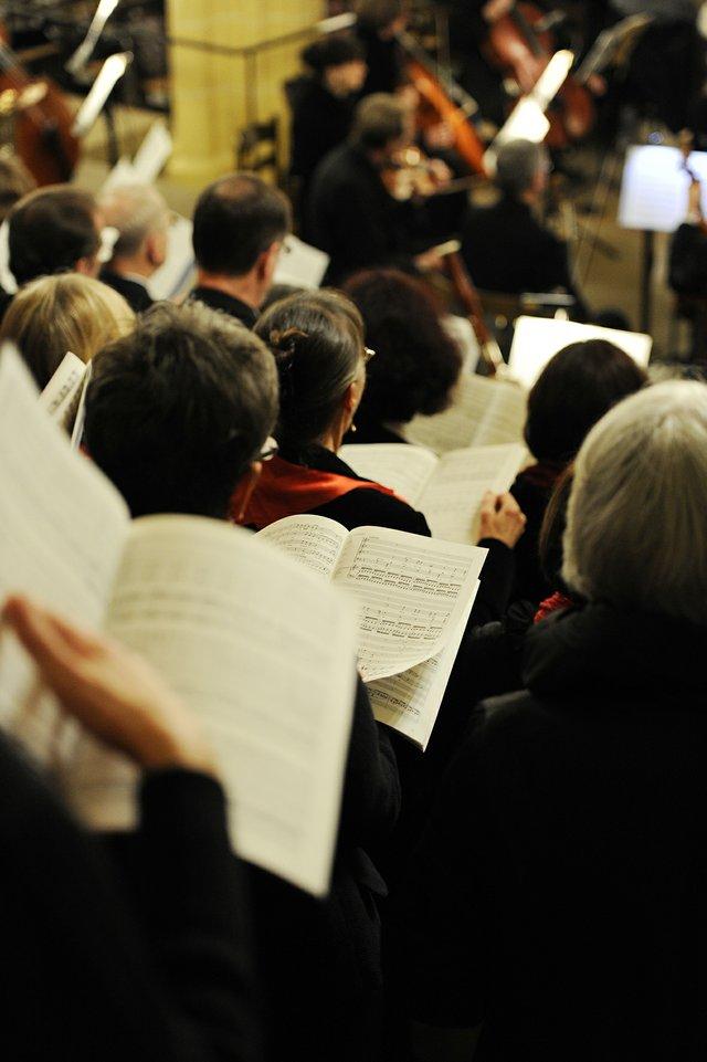Kantorei und das Collegium musicum