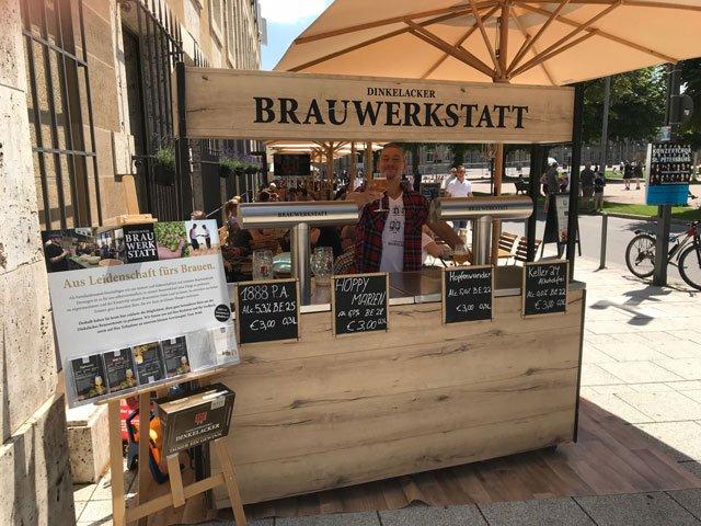Carls Brauhaus Brauwerkstatt Dinkelacker außen