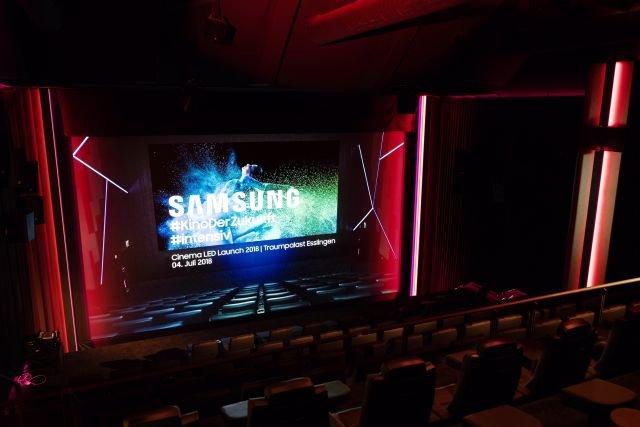Samsung LED Kino Traumpalast Nürtingen