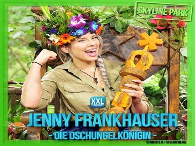 Jenny Frankhauser Dschungelkönigin Allgäu Skyline Park