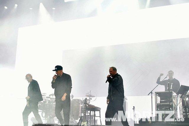 Fanta 4 (Die Fantastischen Vier) bei den 25. JazzOpen Stuttgart 2018 auf dem Schlossplatz