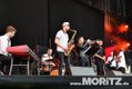 Archie Banks bei den 25. JazzOpen Stuttgart 2018 auf dem Schlossplatz