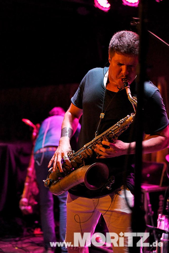 Moon Hooch bei den 25. JazzOpen Stuttgart 2018 im Bix Jazzclub