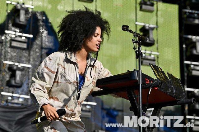 Ibeyi bei den 25. JazzOpen Stuttgart 2018 auf dem Schlossplatz