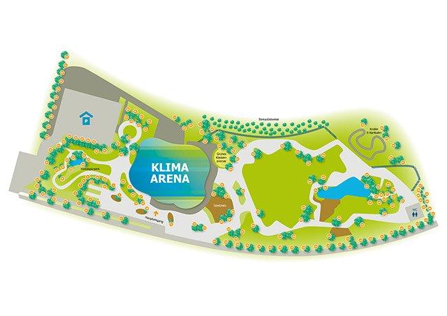 Klima Arena Baumpatenschaft
