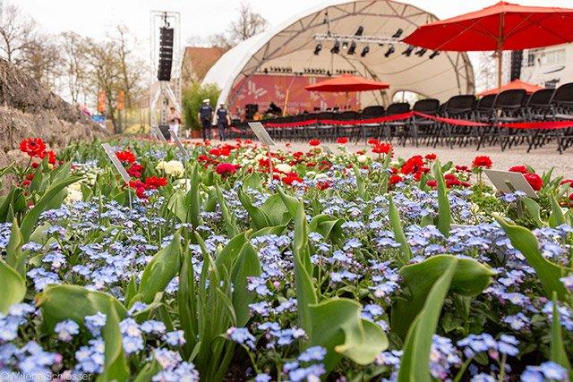 Landesgartenschau Würzburg Bühne