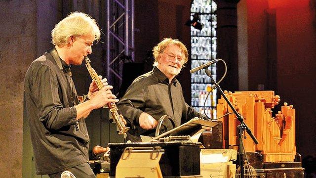 Michael Riessler und Pierre Charial