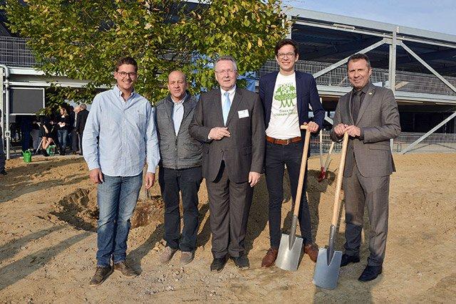 Klima Arena Baumpflanzen
