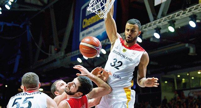 Basketball Länderspiel